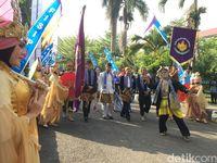 Momen Langka, 17 Raja Seluruh Nusantara Berkumpul di Ciamis