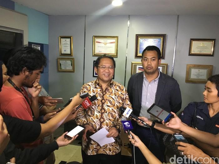 Pertemuan Menkominfo dan Facebook. Foto: Agus Tri Haryanto/detikINET