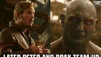Setelah itu, ada pertemuan juga antara mereka dengan Iron Man dan Spider-Man. Foto: dok Instagram