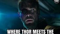 Thor lantas bergabung dengan Guardians of the Galaxy. Foto: dok Instagram