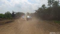 Kondisi jalan Tol Semarang Batang