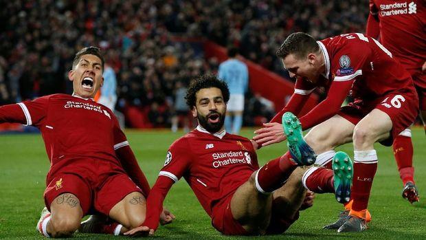 Mohamed Salah merasa mendapat banyak dukungan dari rekan setimnya.
