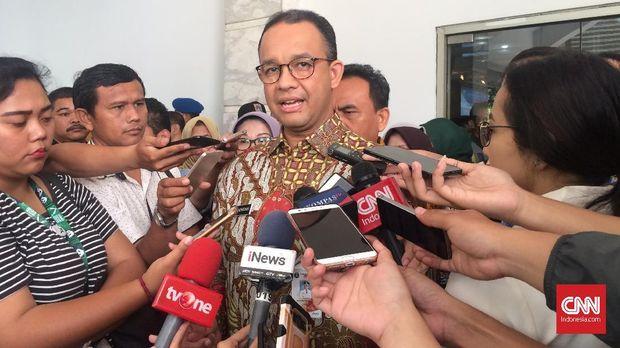 Melalui teleconfrence, Anies minta Sandi selesaikan laporan Ombudsman