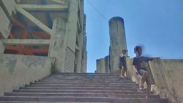 Gedung Shelter Tsunami Banten yang Dikorupsi Sering Buat Pacaran