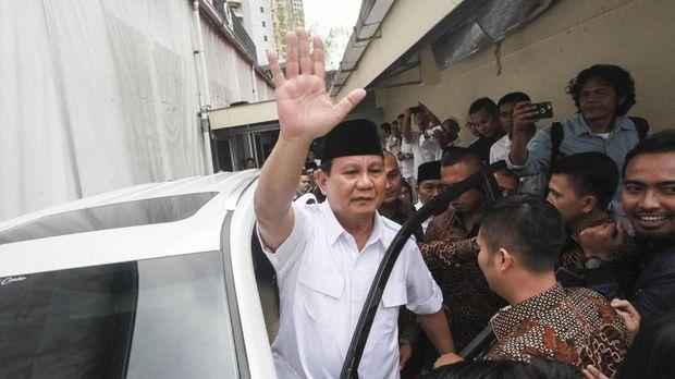 Prabowo Subianto resmi diusung Partai Gerindra maju di Pilpres 2019.