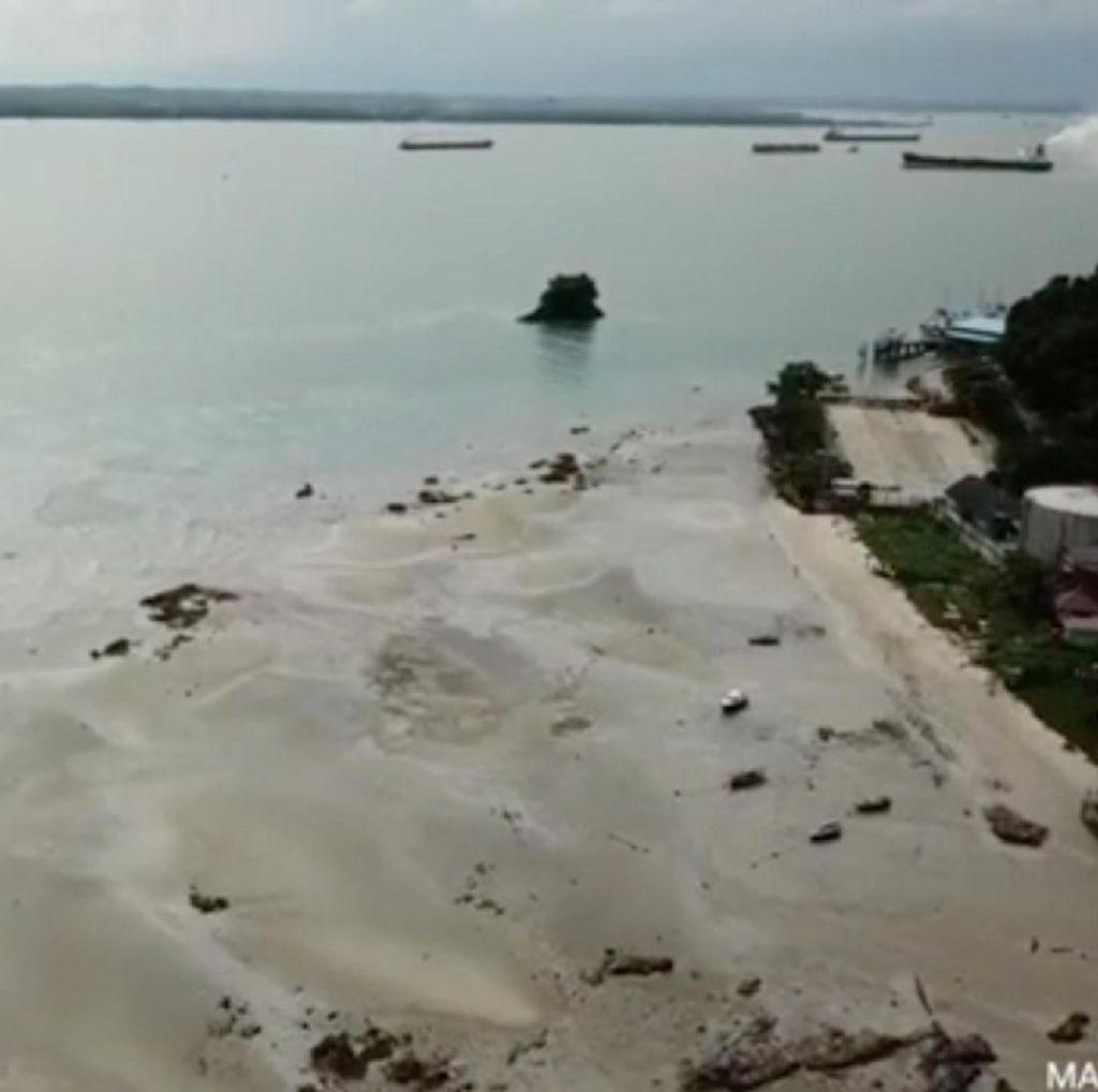 Karyawan Pertamina Jadi Tersangka Tumpahan Minyak di Balikpapan