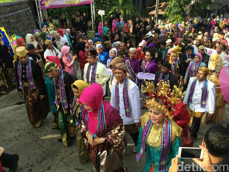 Momen Langka 17 Raja Seluruh Nusantara Berkumpul Di Ciamis