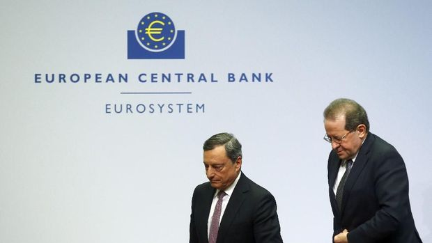 Gara-gara Bank Sentral Eropa, Bursa Saham Asia Berguguran