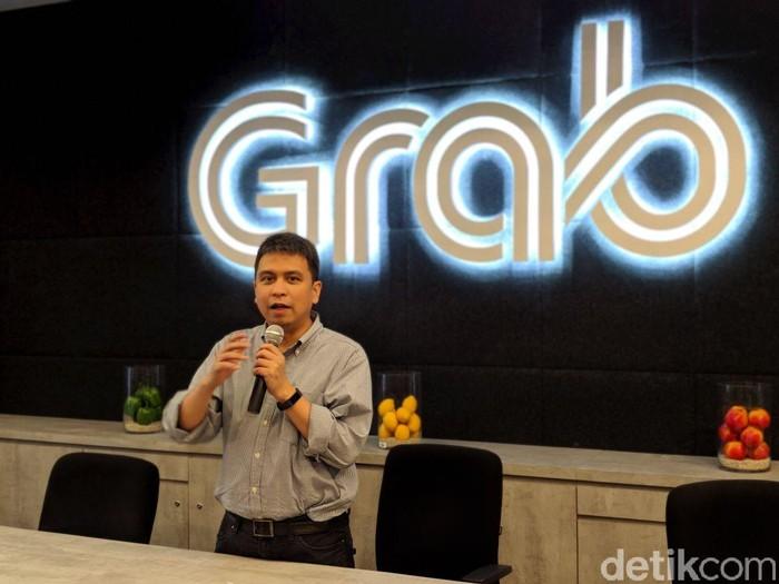 Managing Director Grab, Ridzki Kramadibrata. Foto: Adi Fida Rahman/detikinet