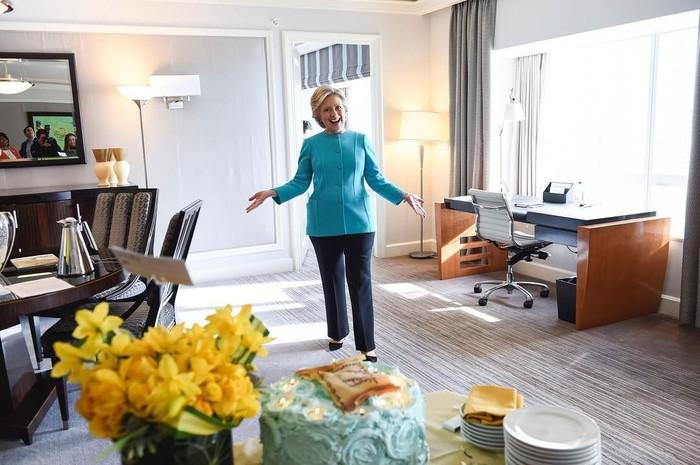 Memiliki nama panjang Hillary Diane Rodham Clinton. Hillary merupakan mantan Ibu Negara, yang beranjak menjadi politsi dan mantan calon presiden Amerika. Foto: Instagram @hillaryclinton