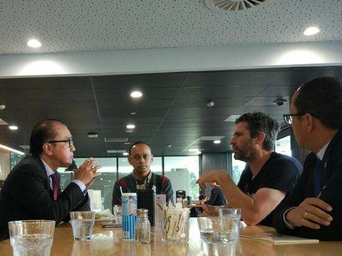 Dubes RI untuk Selandia Baru, Tantowi Yahya, diskusi soal kopi