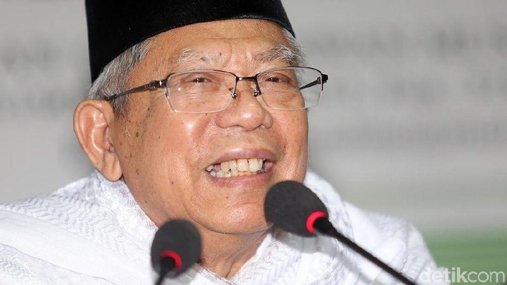 Kala Maruf Amin Pertanyakan Gelar Ulama Sandiaga Uno