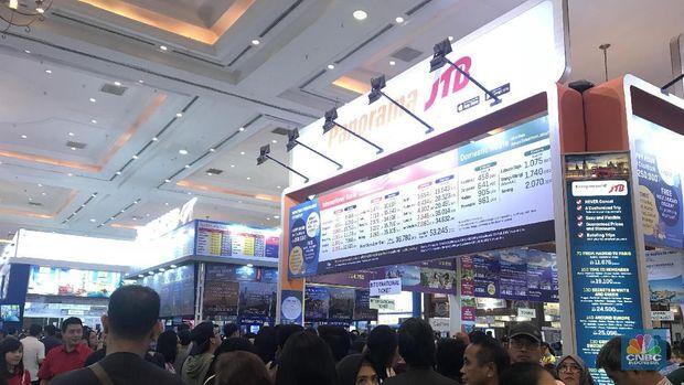 Ini Promo Tiket dan Paket Wisata di Garuda Travel Fair