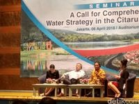 Seminar bertajuk 'A Call for Comprehensive Water Strategy in The Citarum Watershed'