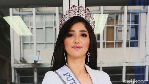 Pesona si Cantik Sonia Fergina Citra, Puteri Indonesia 2018