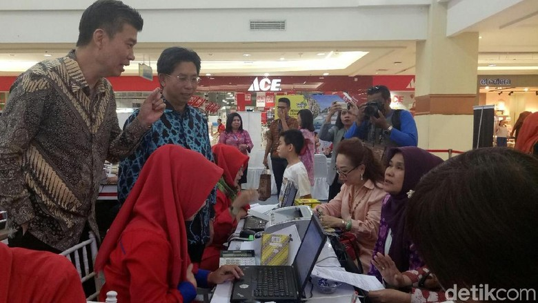 Mega Travel Fair di Palembang (Raja Adil/detikTravel)