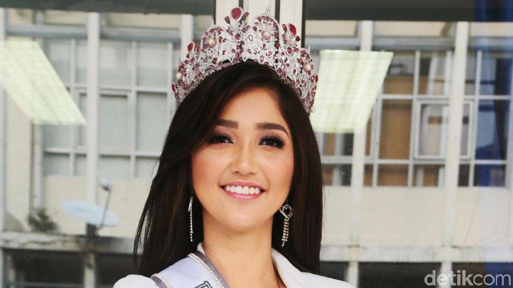 Dulu Di-bully Gemuk, Sonia Fergina Kini Optimistis Menang Miss Universe 2018
