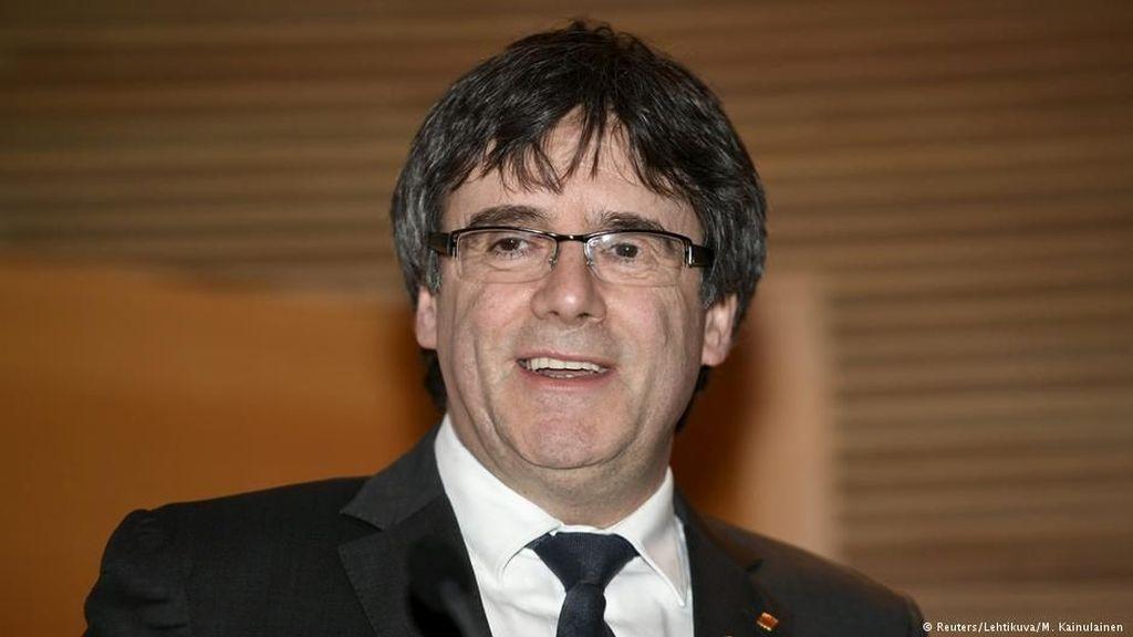 Pimpinan Catalonia Carles Puigdemont Keluar Penjara dengan Uang Jaminan