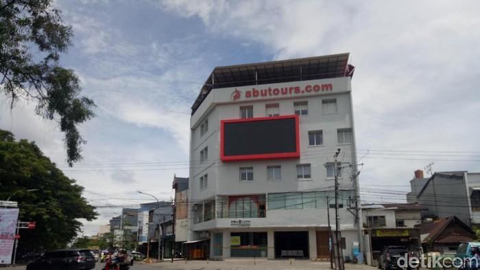 Kantor pusat Abu Tours di Makassar (Dok. detikcom)