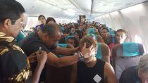 Idrus Marham Beri Minyak Angin Ke Bule Sakit di Garuda