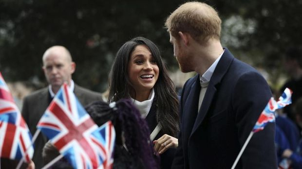 Britbox akan menggelar live-streaming acara pernikahan Harry-Markle.