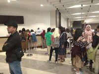 Para Joyful sudah antre sejak pagi untuk bertemu JBJ.