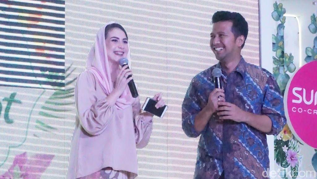 Foto: Pesona Arumi Bachsin di Audisi Sunsilk Hijab Hunt Surabaya