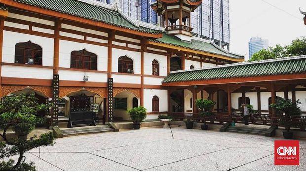 Masjid Chengdu Huangcheng, China.