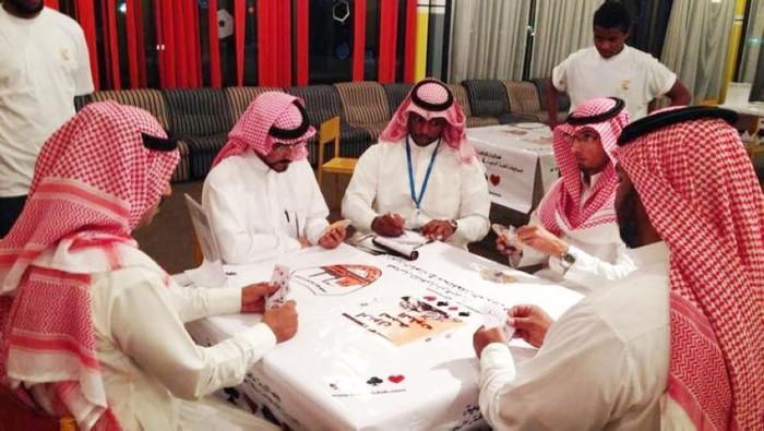 turnamen kartu Baloot digelar pertama kali di Arab Saudi (Foto: Saudi Gazette)