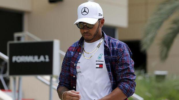 Lewis Hamilton juara F1 tahun lalu. (