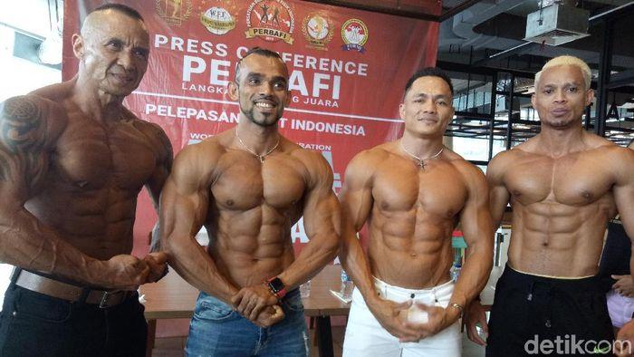 Sebanyak 10 atlet Perbafi akan mengikuti kejuaraan di Singapura (Foto: Amalia Dwi Septi/detikSport)