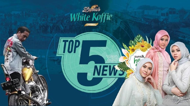 Jokowi Geber Chopper, Keriuhan Sunsilk Hijab Hunt 2018