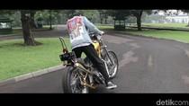 Sebelum Dibeli Jokowi, Chopper Emas Sempat Dipamerkan Hingga ke Jepang