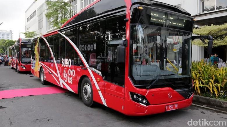 Keunggulan Bus Suroboyo, Serba Otomatis dan Bisa Bayar Pakai Sampah