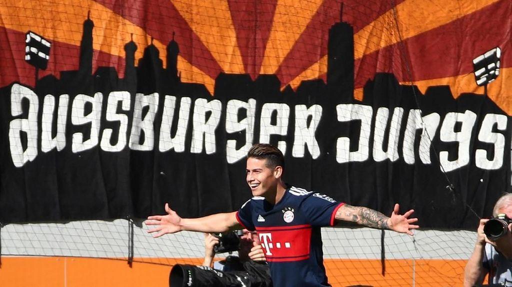 James Rodriguez Bahagia di Bayern