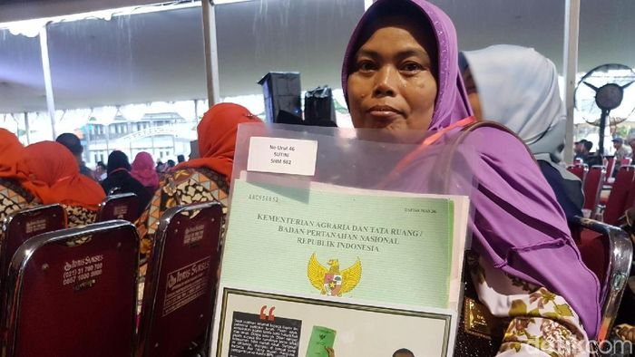 Ilustrasi Sertifikat Tanah Foto: Syahdan Alamsyah/detikcom