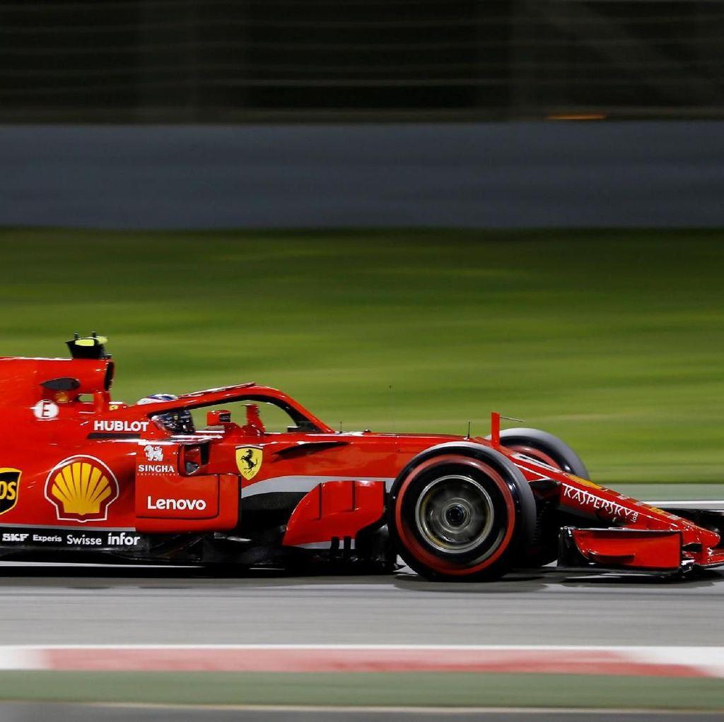 Raikkonen Kuasai Latihan Kedua, Ferrari Mendominasi