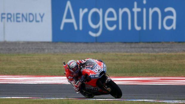 Andrea Dovizioso mampu jadi pemuncak klasemen MotoGP 2018 saat ini.