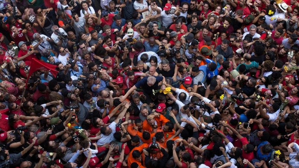 Usai Tolak Serahkan Diri, Eks Presiden Brazil Akhirnya Dibui