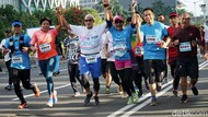 Sandiaga Uno Lari Bersama Pejuang Kanker