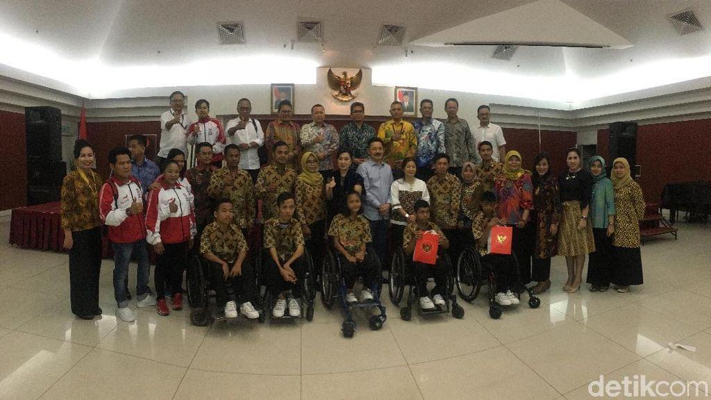 Timnas Boccia Dijamu Makan Malam oleh Kedubes Indonesia di Malaysia