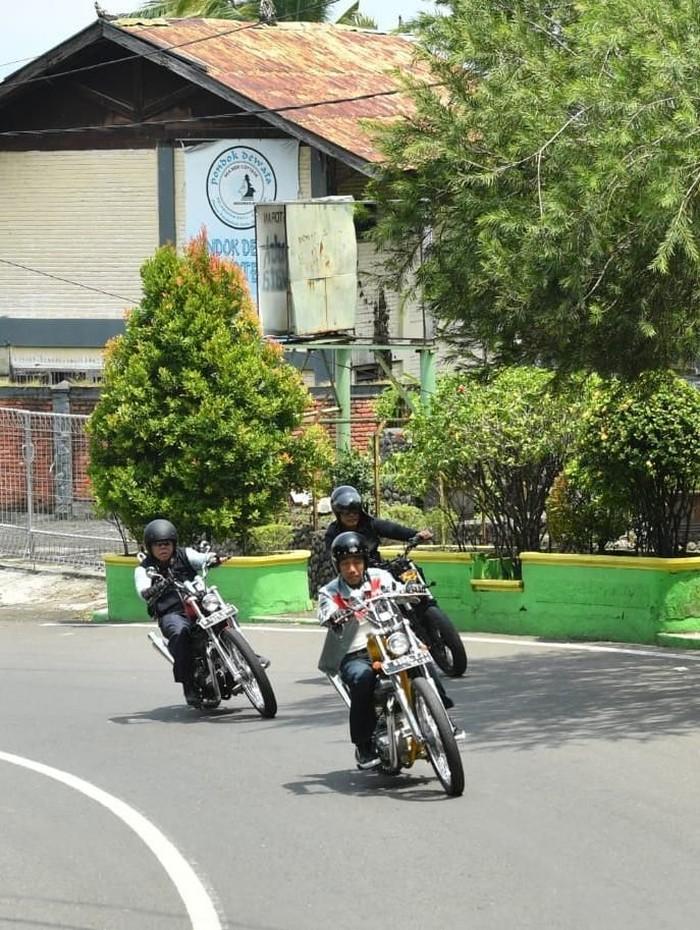 Presiden Jokowi touring ke Palabuhanratu, Jabar. (Foto: Laily Rachev-Biro Pers Setpres)