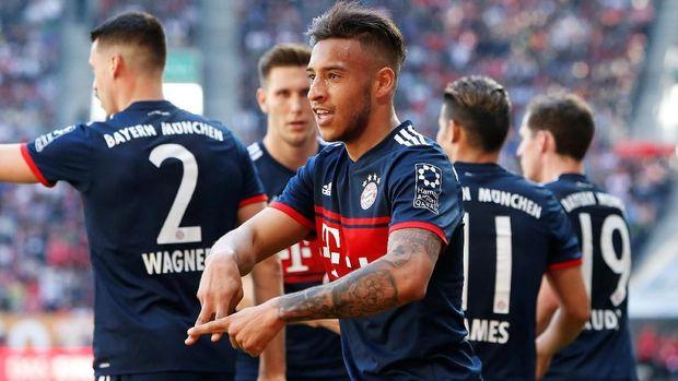 Jumlah gol Bayern Munchen lebih sedikit dari total koleksi gol trio Mohamed Salah-Roberto Firmino-Sadio Mane.