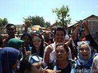 Arumi Bachsin Jadi Duta Wisata Gili Ketapang, Probolinggo