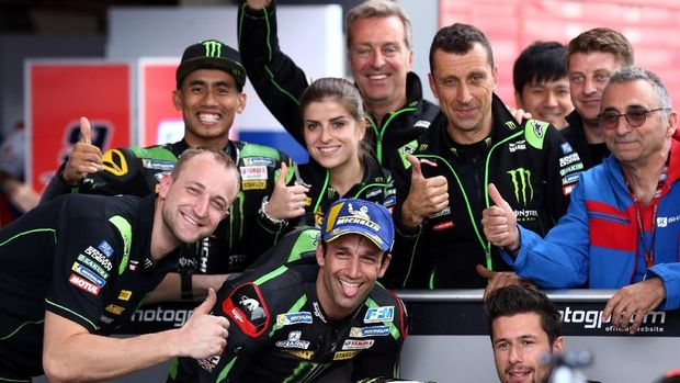 Johann Zarco yakin bisa bersaing di rombongan depan pada MotoGP Italia.