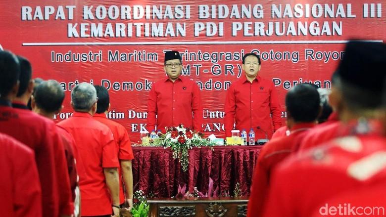 PDIP Gelar Rakor Kemaritiman