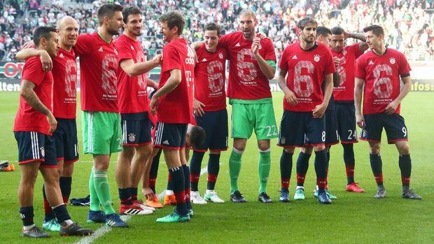 Bayern Munchen bisa fokus ke Liga Champions karena sudah mengunci gelar Bundesliga.