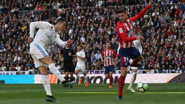 Cristiano Ronaldo mencetak tiga dari lima gol terakhir Real Madrid.