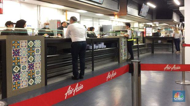 Ada Perosotan Setinggi 3 Lantai di Markas AirAsia