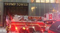 Saat Kebakaran di Trump Tower, Detektor Asap Tak Berfungsi